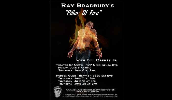 Bradbury Pillar of Fire