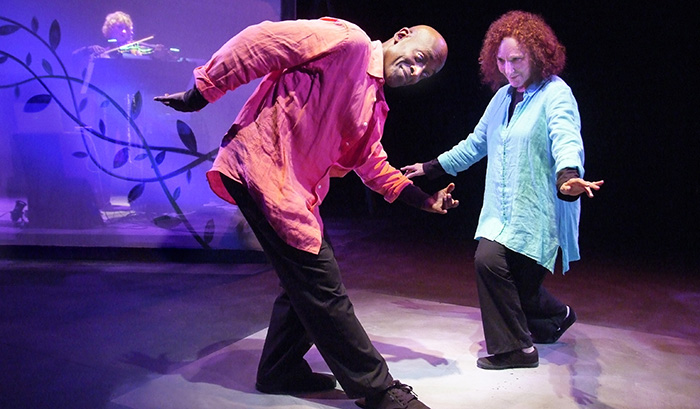 Mary Lou Newmark, Charles Reese, and Eileen T'Kaye in Breathing Room. Photo: Ed Krieger