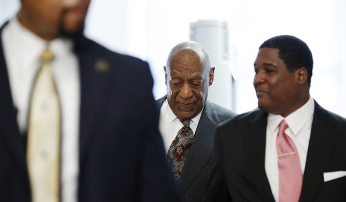 Mr. Cosby arrives at the Montgomery County Courthouse in the Philadelphia suburb of Norristown  for a preliminary hearing. Photo: Dominick Reuter / Associated Press