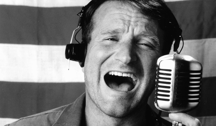 """The late Mr. Williams in """"Good Morning, Vietnam"""""""