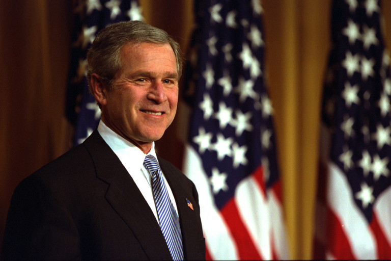 an introduction to the history of the president george bush