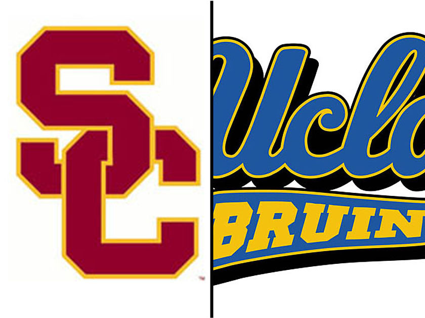 USC will be on TV for 10 games, while UCLA is scheduled for seven games.