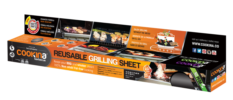 Cookina grill sheet