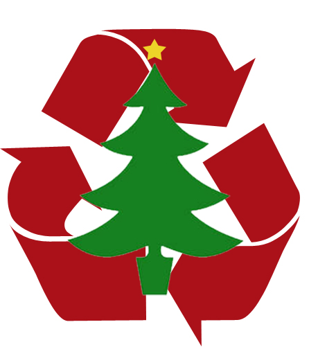 Culver City Christmas Tree: Merry Christmas. Now Recycle